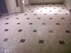 tile flooring repair
